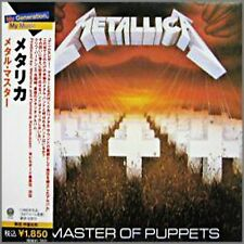 METALLICA - MASTER OF PUPPETS - JAPAN CD - SEALED NEW