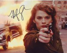 HAYLEY ATWELL Signed Autographed AGENT CARTER PEGGY CARTER Photo