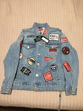 KITH x Coca Cola Denim Jacket Light Blue Size Small With Receipt