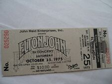 ELTON JOHN Original   1975   Unused CONCERT TICKET - Dodger Stadium, L.A.