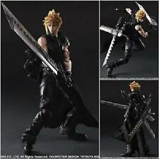 "HOT!!! Play Arts Kai Final Fantasy VII Advent Cloud Strife Children 10"" Figure"