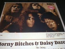 KISS Horny Bitches & Daisy Daze  vinyl 2-LP Color Vinyl Gatefold COVER LTD SEALE