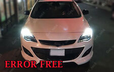 2 x DRL Super Luminosi Bianchi Vauxhall Astra J Upgrade T20 580 senza errori BULBI