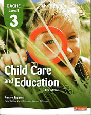 CACHE Level 3 in Child Care and Education Student Book by Pearson Education...