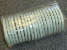 Azul Pálido Cinta De Organza. 5 Rollos X 50m - 7mm. Nueva Marca Excelente Estado!