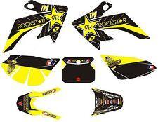 Honda XR CRF 50 XR50 CRF50 Rockstar Dunlop Decals Graphic Sticker Kit