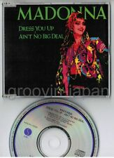 "MADONNA Dress You Up~Ain't No JAPAN 5"" CD Collectors Series WPCR-1502 Spine cut"