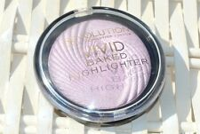 makeup revolution vivid baked highlighter shimmer powder, pink lights £4.99