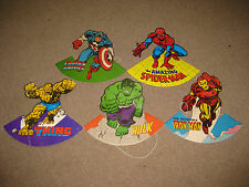 1979 Aussie Marvel Comic Party Hat Spiderman Iron Man Hulk Thing Captain America