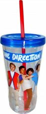 One Direction 'Cuadrícula' Twisty Paja Vaso Regalo Nuevo