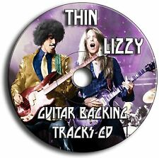 15 THIN LIZZY STYLE ROCK GUITAR BACKING TRACKS AUDIO CD ANTHOLOGY JAM TRAXS