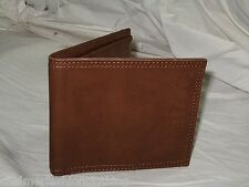 BNWT - FIRETRAP Synthetic Leather Bifold Wallet  Brown