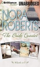 Bride (Nora Roberts): The Bride Quartet MP3-CD Box Set : Vision in White, Bed...