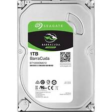 Seagate - Barracuda 1TB Internal SATA Hard Drive for Desktops - Silver
