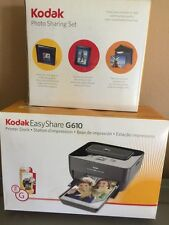 Kodak EasyShare Dock G610 Digital Photo Thermal Printer+frame Album Lot Box