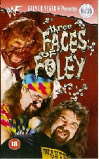 WWF Three Faces of Mick Foley ORIG VHS WWE Wrestling