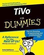 TiVo For Dummies, Andy Rathbone, Good Condition, Book