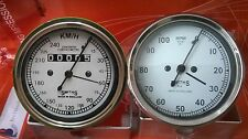 Smiths 240 kmph Speedometer + Tachometer 80 mm fitment M18x1.5 thread Replica WH