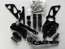 Suzuki GSX R 1000, K9 L0 L1 L2 L3 09 10 11 12 13 Fußrastenanlage, schwarz
