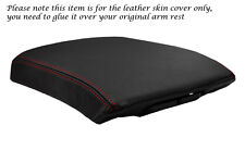 RED STITCHING FITS NISSAN PATHFINDER 2007-2013 LEATHER ARMREST COVER ONLY