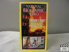 National Geographic Video - Nature's Fury VHS