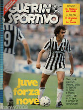 GUERIN SPORTIVO=N.39 1984=MICHEL PLATINI COVER=BOXE LA ROCCA- DON CURRY