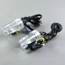 2X Car HID Xenon Headlight Lamp Light For H1 6K 6000K 35W Bulbs Replacement Y03