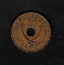 East Africa 1942 10 cent coin