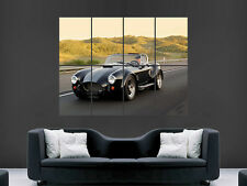 AC COBRA CLASSIC CAR  WALL POSTER ART PICTURE PRINT LARGE HUGE