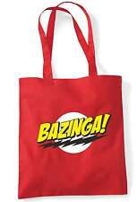 Bazinga Big Bang Theory Sheldon Cooper Geek Tote Bag