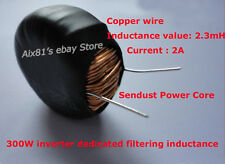 Sendust Power Core Magnetic Coil Inductor 2A 2.3mH Inductance Coil 300W Inverter