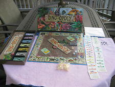 Monopoly DINO-OPOLY Board Game Complete in Excellent Used Condition.