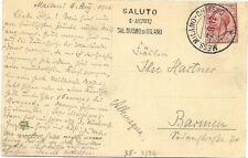 P5049    Annullo ambulante  Mess. Milano-Chiasso 1912