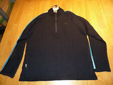 ICEBREAKER CORONET MERINO WOOL HALF ZIP SWEATER SHIRT MEN'S XL NEW RTL $200