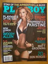 Original Playboy Magazine June 2007 Brittany Binger PMOY Matt Groening int