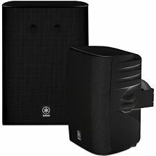 Yamaha NS-AW570 2-Way Indoor/Outdoor Speakers - Black (Pair) ✔NEW✔