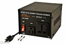 Simran Step Up Down Voltage Converter CE Certified Transformer 110V/220V 200watt