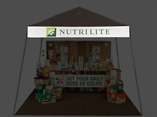 Nutrilite Banner by Amway 1x9ft (12x96 inch) Outdoor or Indoor Use.