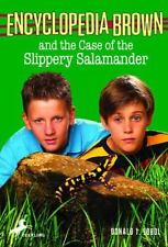 Encyclopedia Brown and the Case of the Slippery Salamander-ExLibrary