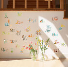 26 Animals Alphabet Removable Educational Wall Stickers Kids Nursery Decal