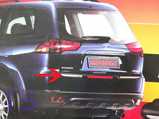 Sill Tail Bumper Black Rear Guard Fit Mitsubishi Pajero Montero Sport 2010 12 14