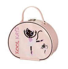 Girls Pink Ballet Ballerina Dance Hand Vanity Case Bag By Katz KB11 Seconds