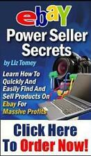 How to Sell & Make Money on eBay Power Seller Secrets e-Book PDF w/Resell Rights