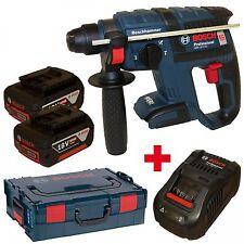 Bosch Akku-Bohrhammer GBH 18 V-EC + 2xAkku 6,0AH + Lader GAL1880CV + L-Boxx Gr.2