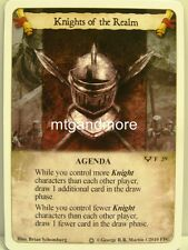 A Game of Thrones LCG - 1x Knights of the Realm #039 - Ice and Fire Draft Pack