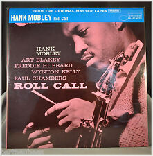Hank MOBLEY Roll Call JAPAN 200G VINYL LP Blue Note Premium MONO Master DBLP-62