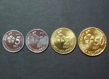 Malaysia Coins Set 4pcs - 3rd Series New Design Issue 2012 - UNC