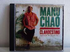 CD ALBUM MANU CHAO Clandestino 7243 8457832 8