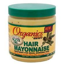 Hair Mayonnaise Treatment for weak & Damaged Hair Organics By Africa's Best 511g