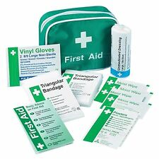 Compact Travel First Aid Kit 26 piece for Car Van Truck Taxi - Single